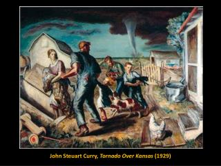 John  Steuart  Curry,  Tornado Over Kansas  (1929)