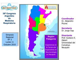 Simposio Regional Nº 3 Lunes 11 Octubre 2010