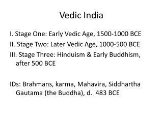 Vedic India