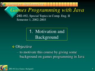 240-492 Java Games. Backgnd1
