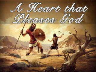 "The Heart Matters Most to God (Part  1  of  ""A Heart that Pleases God"")"