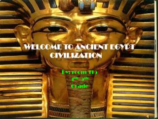 Welcome to Ancient Egypt Civilization