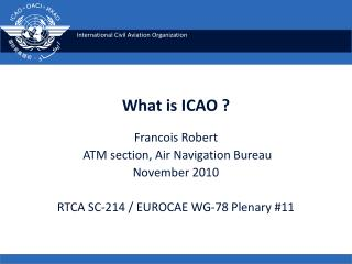What is ICAO ?