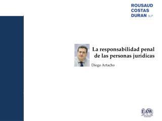 La responsabilidad penal  de las personas jur�dicas