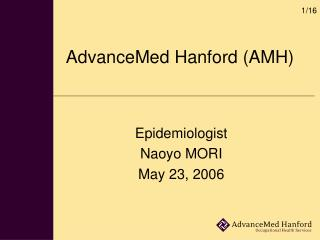 AdvanceMed Hanford AMH