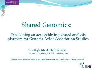 Shared Genomics: