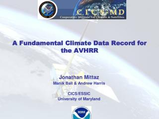 A Fundamental Climate Data Record for the AVHRR