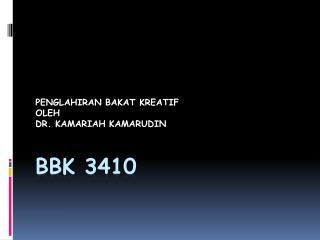 BBK 3410