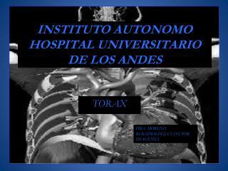 INSTITUTO AUTONOMO HOSPITAL UNIVERSITARIO DE LOS ANDES