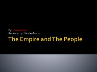 The Empire and The People