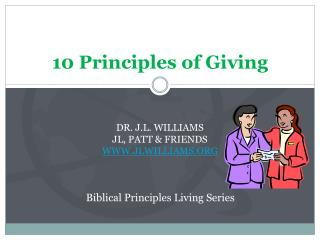 10 Principles of Giving