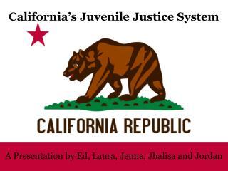 California's Juvenile Justice System