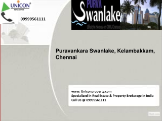 Swanlake Apartments Chennai | For booking call 09999561111