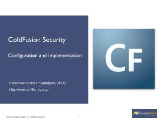 ColdFusion Security Configuration and Implementation