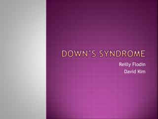 Down�s Syndrome