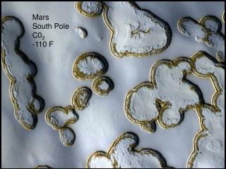 Mars South Pole C0 2 -110 F