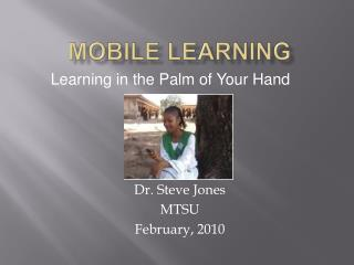 Mobile Learning ppt