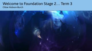 Welcome to Foundation Stage 2… Term 3