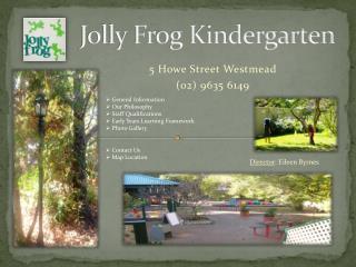 Jolly Frog Kindergarten