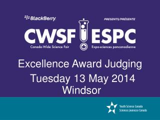 Excellence Award Judging