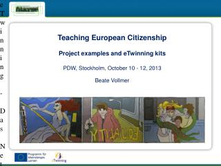 Teaching European  Citizenship Project  examples and eTwinning kits