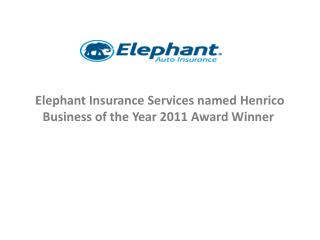 Elephant Insurance Services named Henrico Business of the Ye