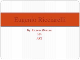 Eugenio Ricciarelli
