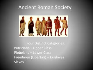 Ancient Roman Society