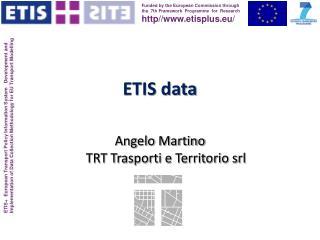 ETIS data