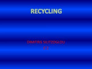 DIMITRIS SILITZOGLOU E�2