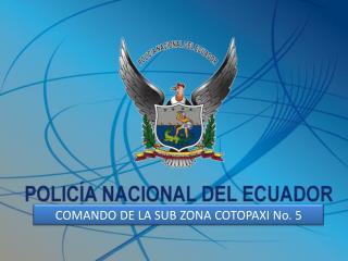 SEGURIDAD  PARA EL CONTROL DE  LA  COMPARSA  DE LA MAMA  NEGRA  2011