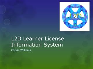 L2D Learner License Information System