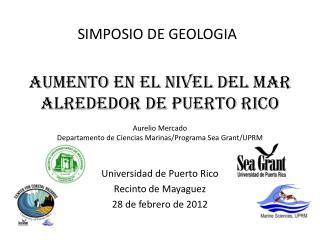 SIMPOSIO DE GEOLOGIA