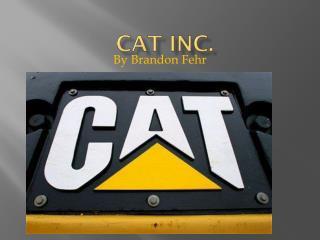 Cat inc.
