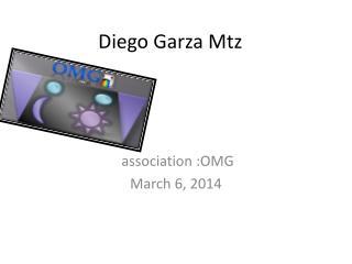 Diego Garza  Mtz