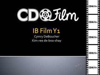 IB Film Y1
