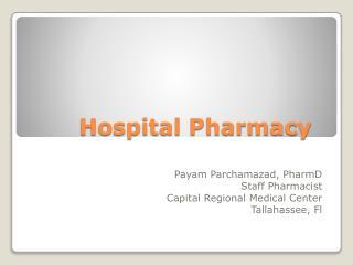 Hospital Pharmacy