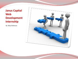 Janus Capital Web Development Internship