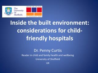 Inside the built environment: considerations for child-friendly hospitals