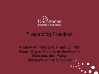 Prescribing Practices