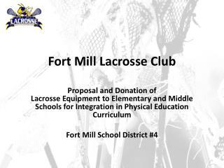 Fort Mill Lacrosse Club
