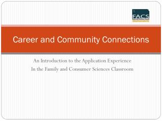 Career and Community Connections