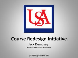 Course Redesign Initiative