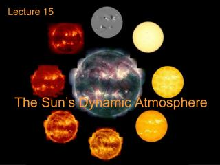 The Sun's Dynamic Atmosphere