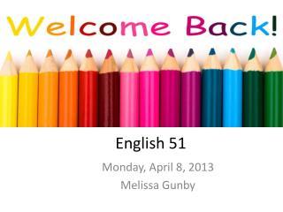 English 51