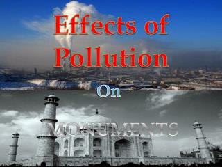Effects of Pollution