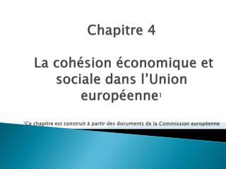 Section 1 - L'hétérogénéité économique et sociale de l'espace communautaire