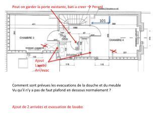 Ajout Lavabo Arr/evac