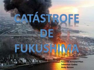 Catástrofe De Fukushima