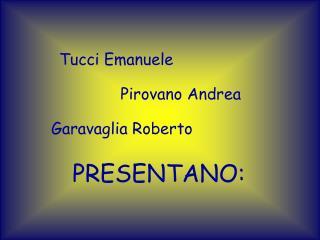 Tucci Emanuele